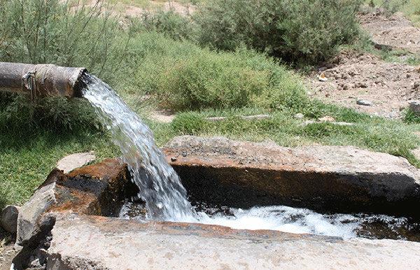 چاه آب کشاورزی