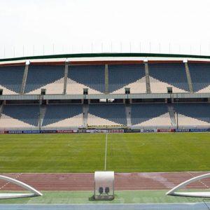 تجهیز ورزشگاه آزادی توسط گروه نظری