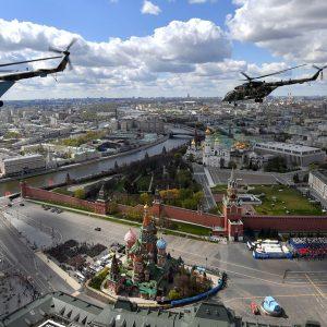 رژه هوایی میدان سرخ
