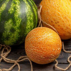 هندوانه و خربزه